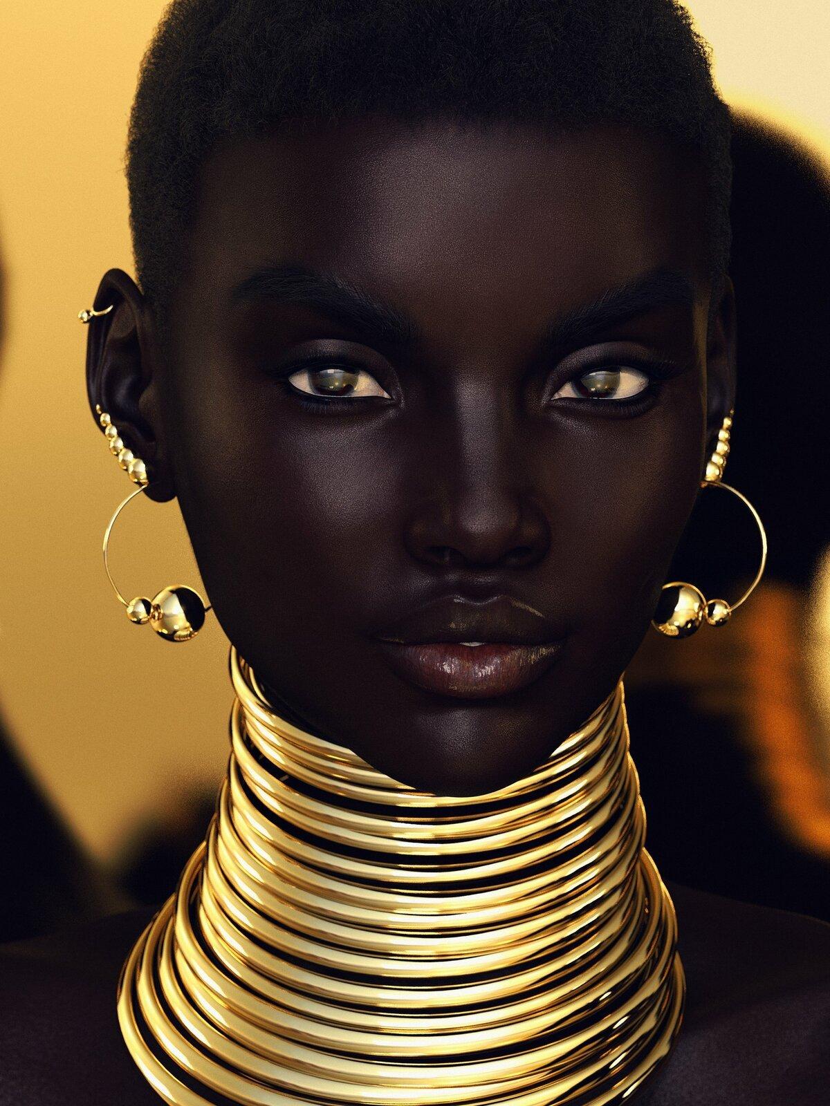 Самая красивая африканка фото