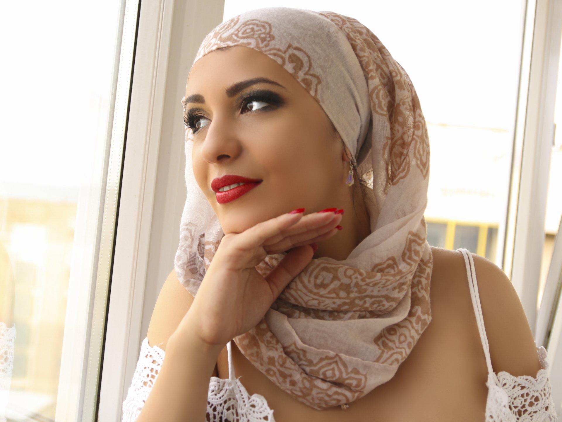 Домашний фото арабки