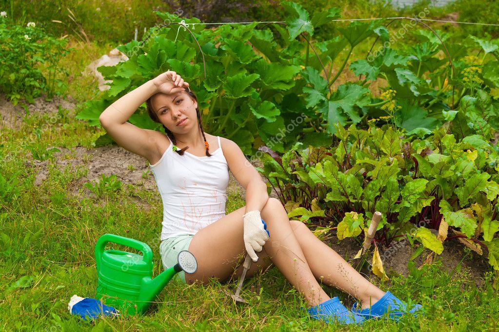 для детей-сирот летом на даче с женой фото семена