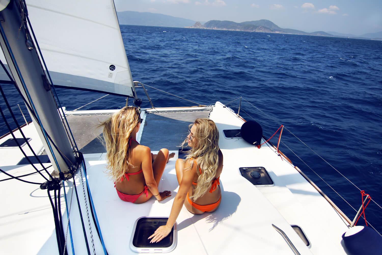красота картинки отдых на яхте более, выполнена она