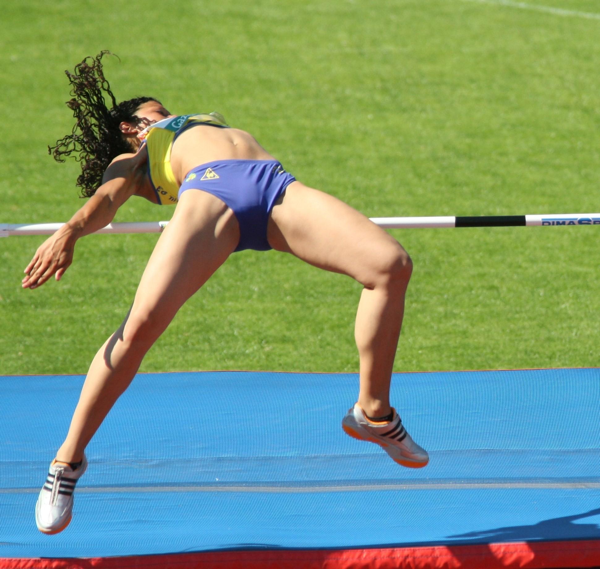 Необычные фотографии спортсменок