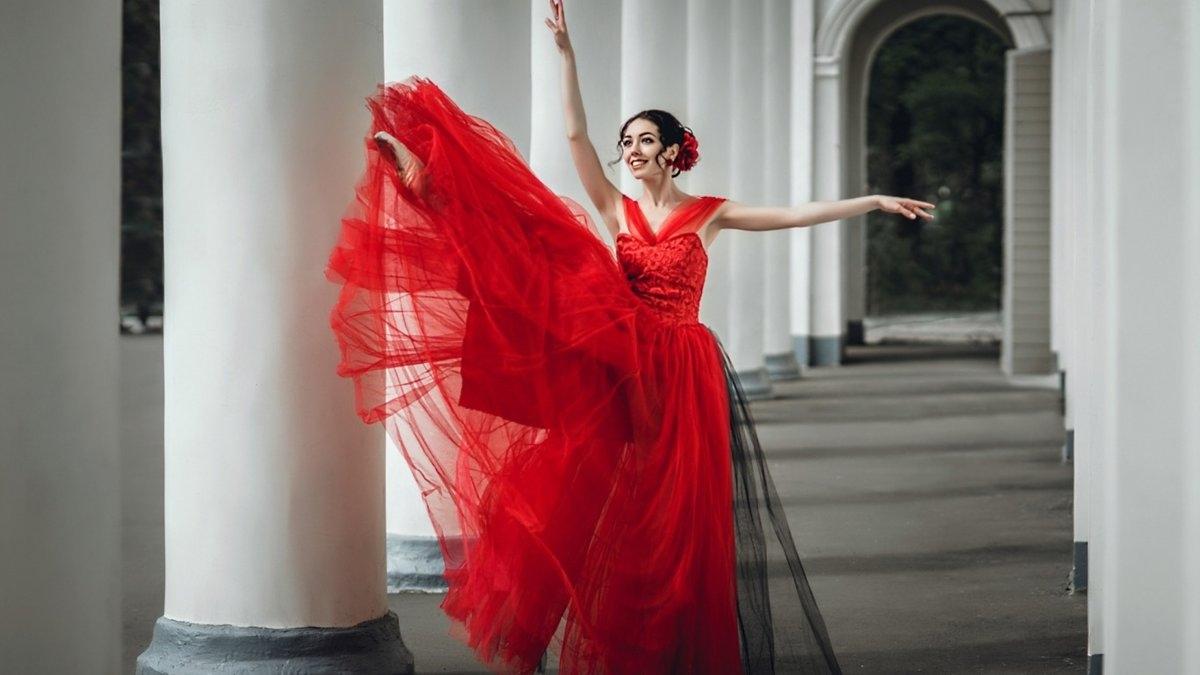 Танцевать В Длинном Платье