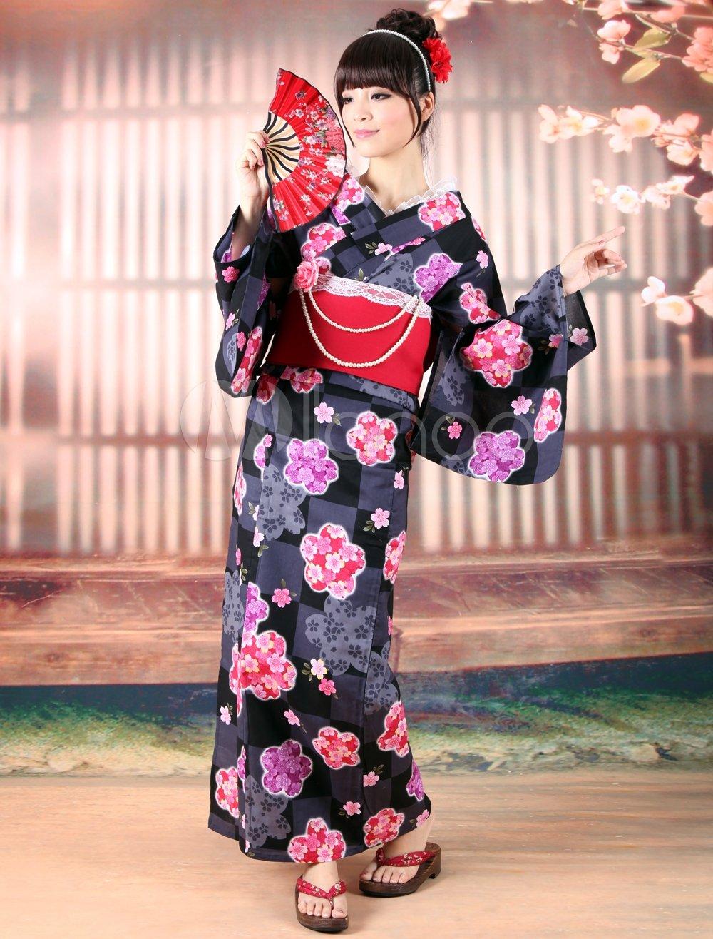 Национальный костюм японии фото теперь