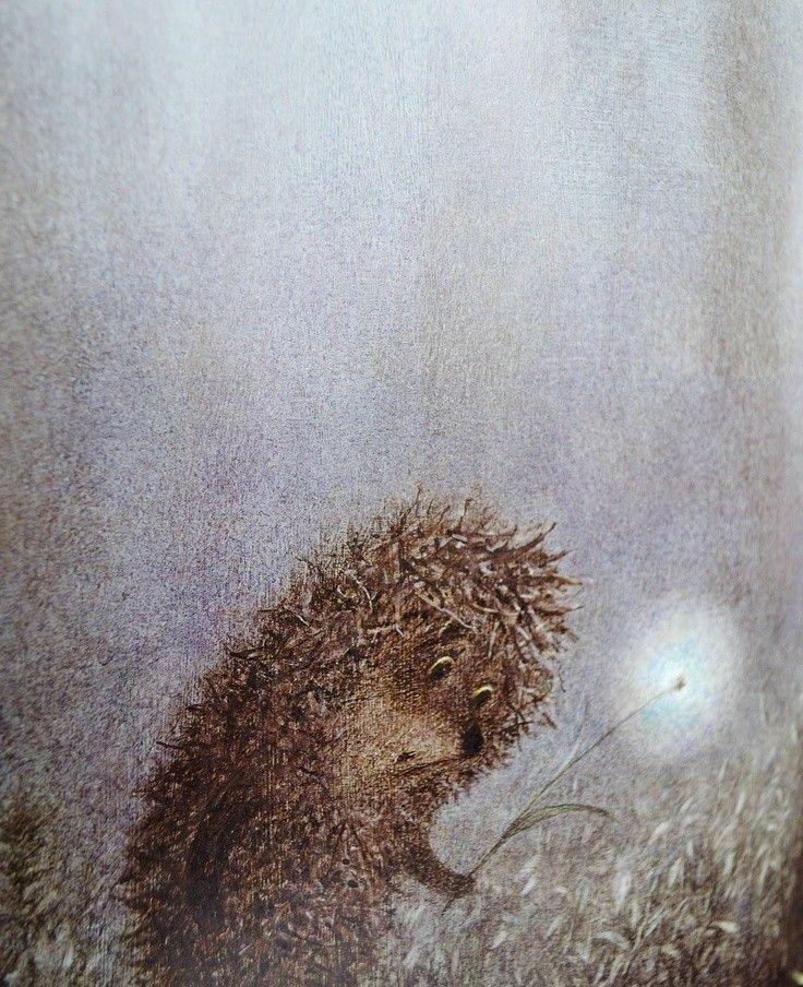 прыжке картинка цветная ежик в тумане купе