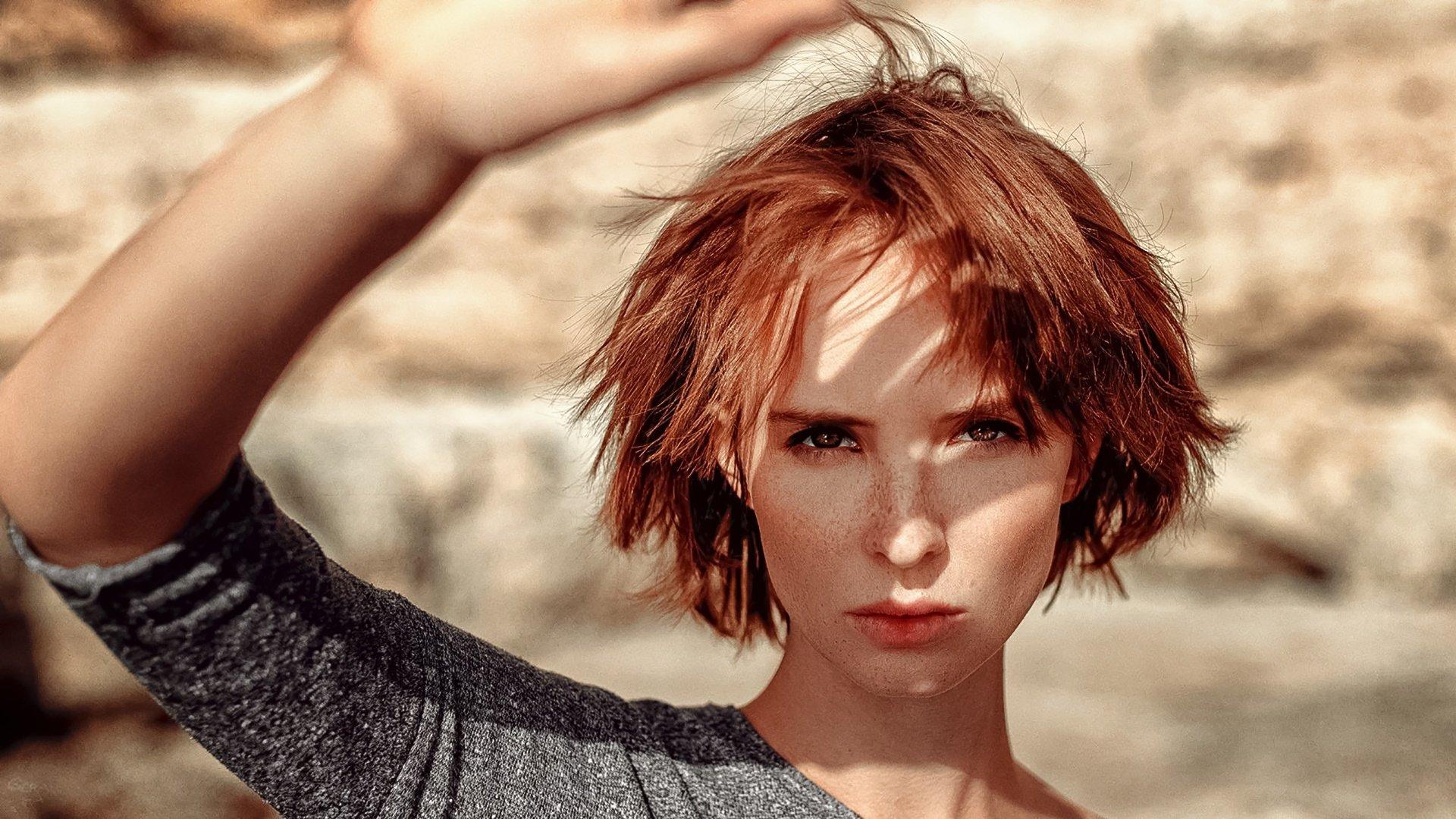 поселке фотосессия с короткими волосами красивые фото нашей статье можно