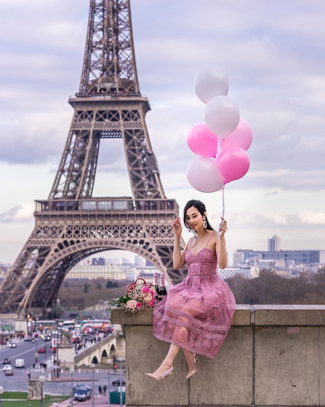 Красивые виды парижа и парижанок фото