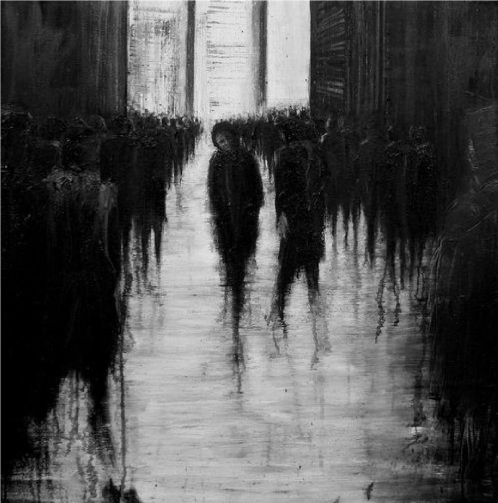 Картинки толпа и одиночество