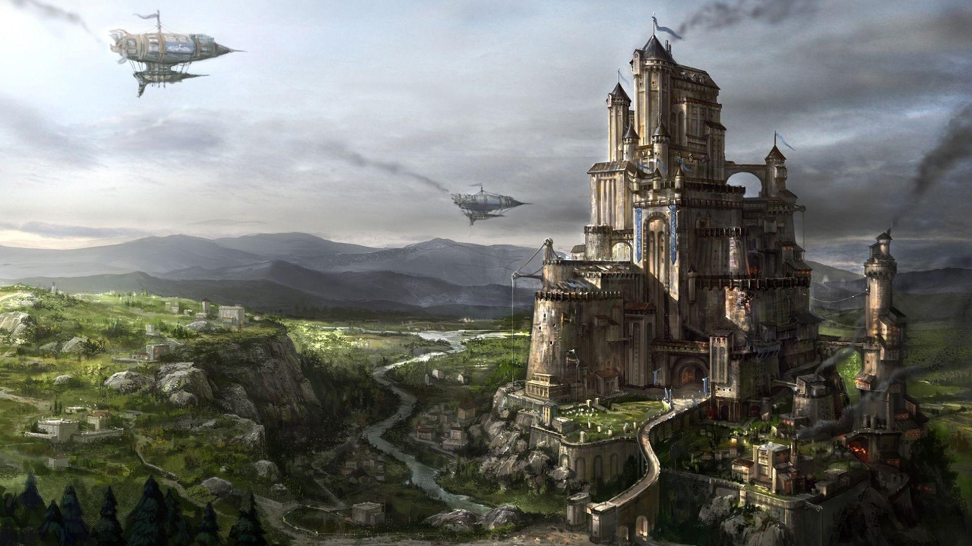Космический замок фото