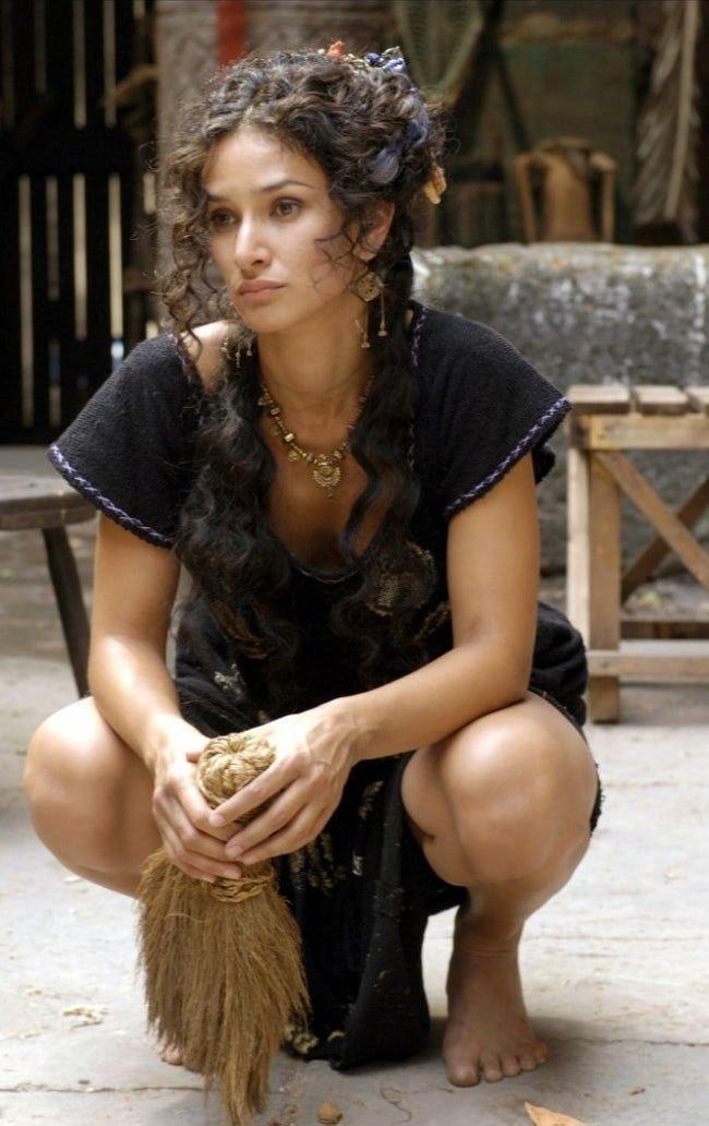 Indira Varma Hot